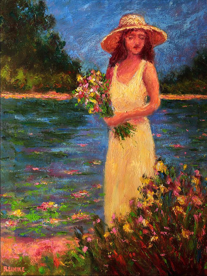 Annes Garden Painting by Vernon Reinike