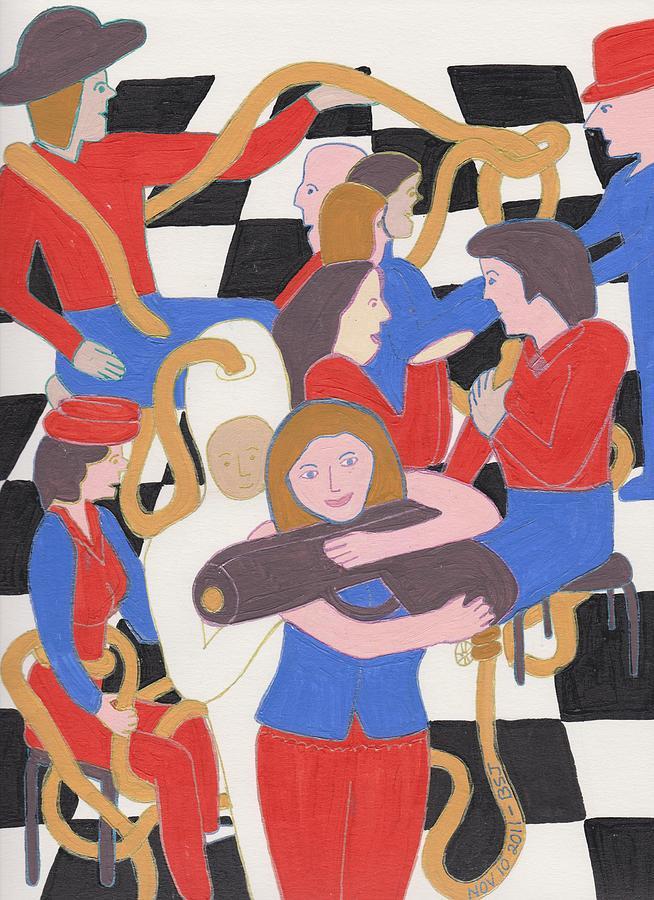 Annie Get Your Gun Painting - Annie Get Your Gun by Barbara St Jean