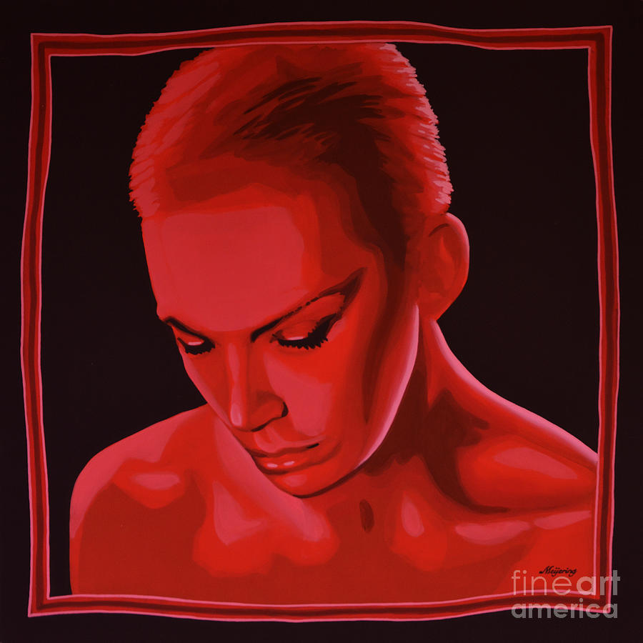 Annie Lennox Painting - Annie Lennox by Paul Meijering