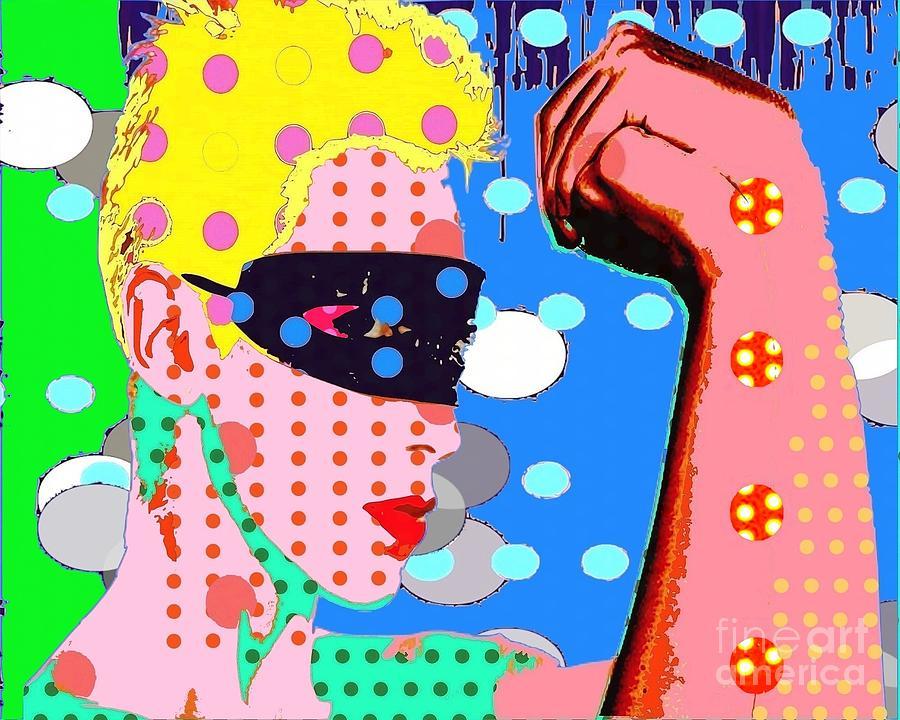 Annie Lenox Digital Art - Annie Lennox by Ricky Sencion