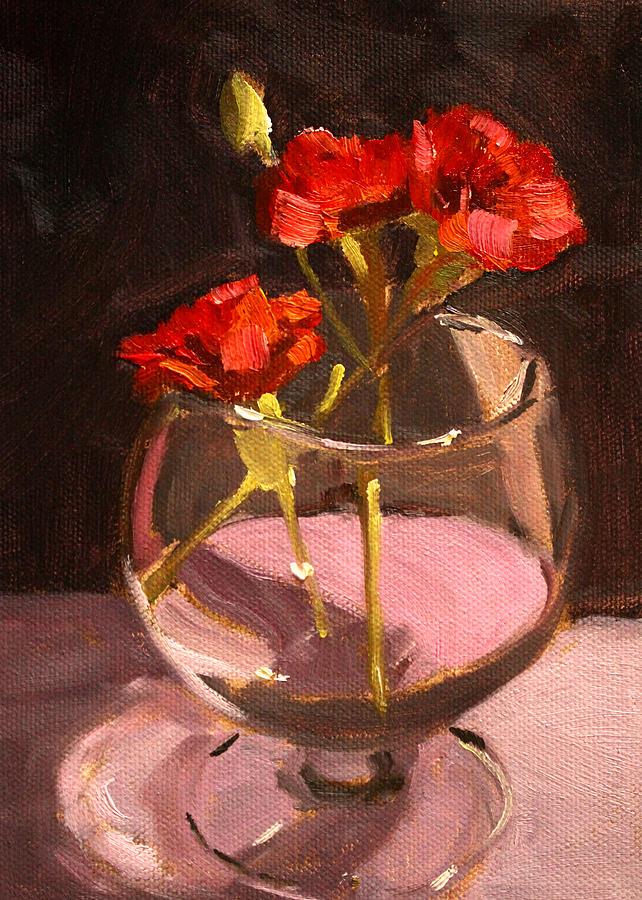 Anniversary Painting - Anniversary by Nancy Merkle