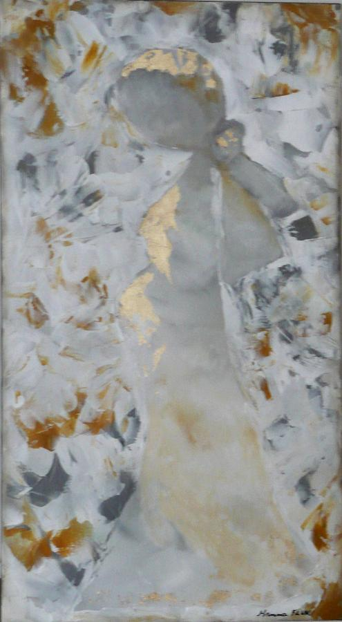 Urban Painting - Anniversary - She by Hanna Fluk
