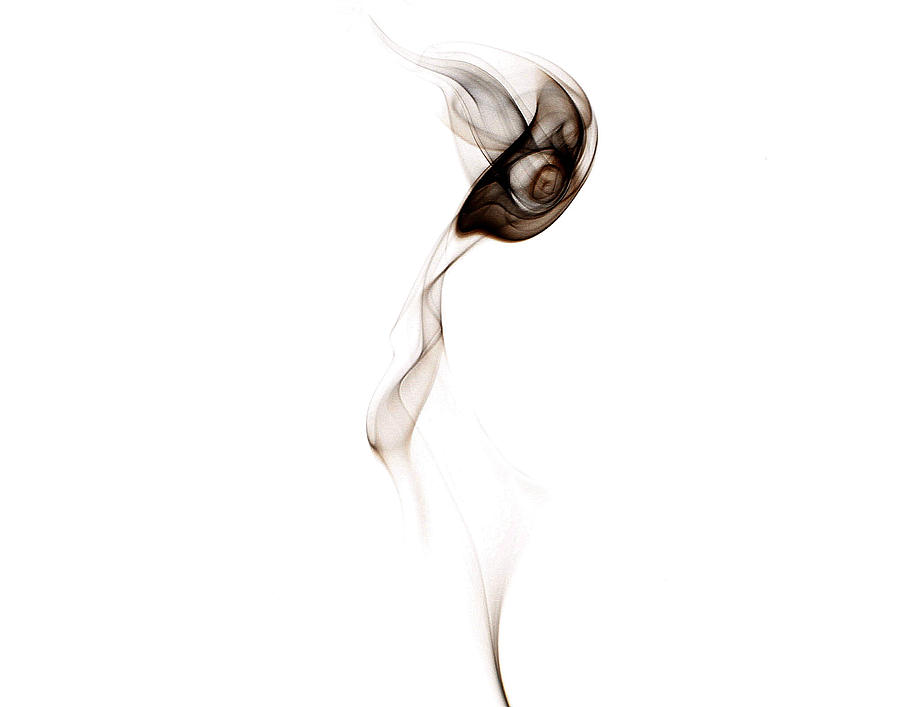 Smoke Photograph - Annleigh by David Mcchesney