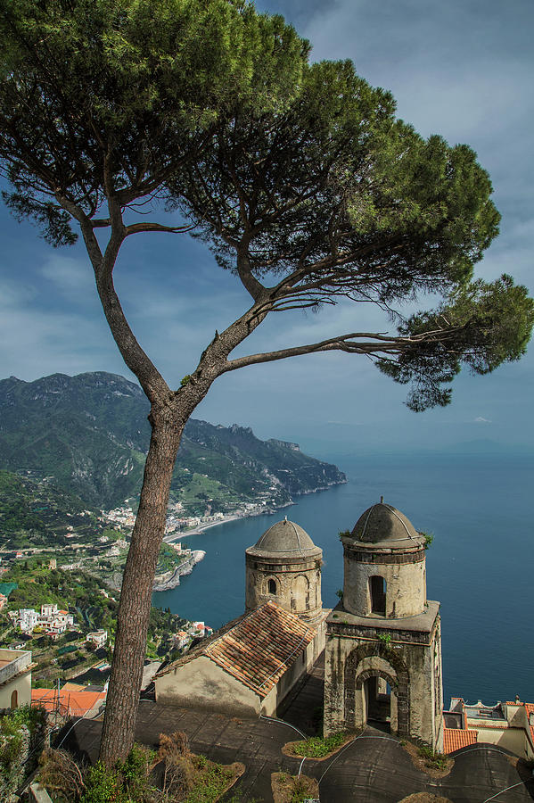 Annunziata Church Of Ravello, View From Photograph by Cultura Exclusive/lost Horizon Images