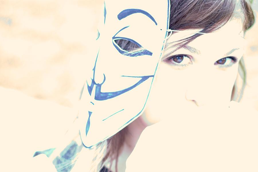 Anonymous Photograph - Anonymous Against Acta by Beatrice Murch