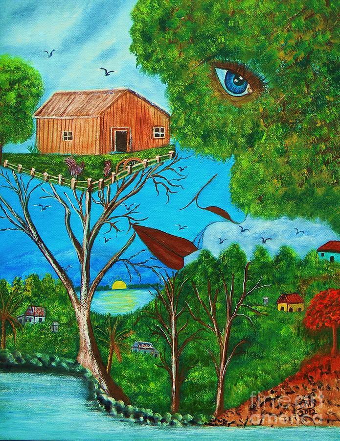 Anoranzas Painting by Iris  Mora