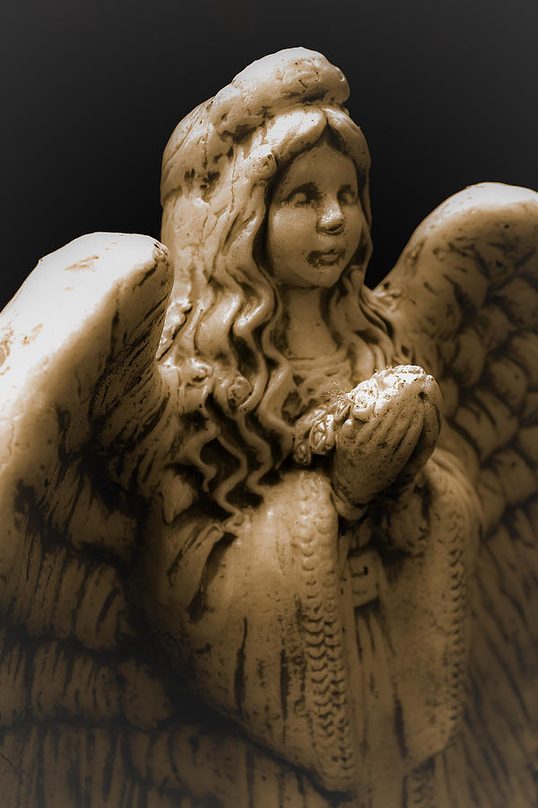 Angel Photograph - Another Angel by Jennifer Burley