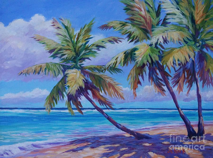 Cayman Painting - Another Beautiful Day by John Clark