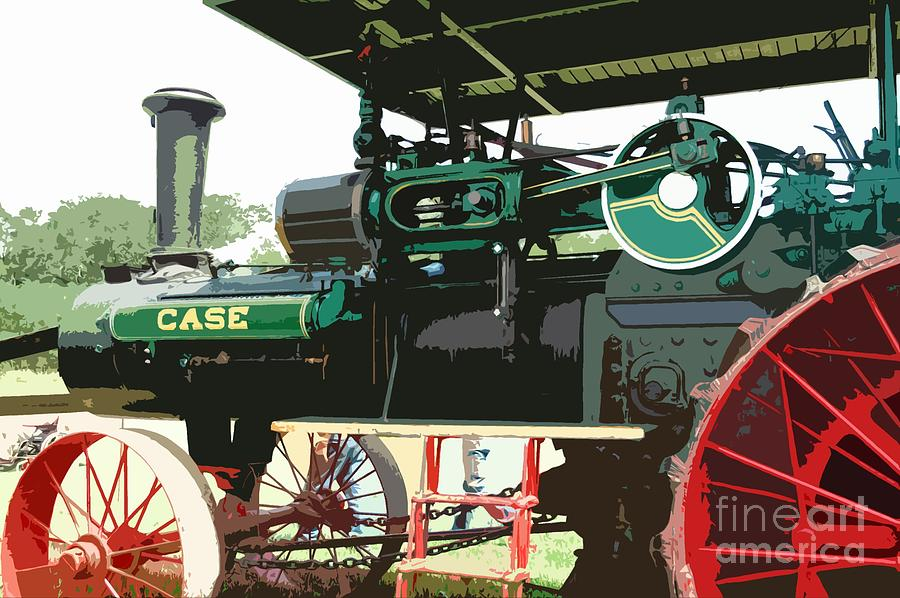 Steam Photograph - Another Beauty by Kathleen Struckle