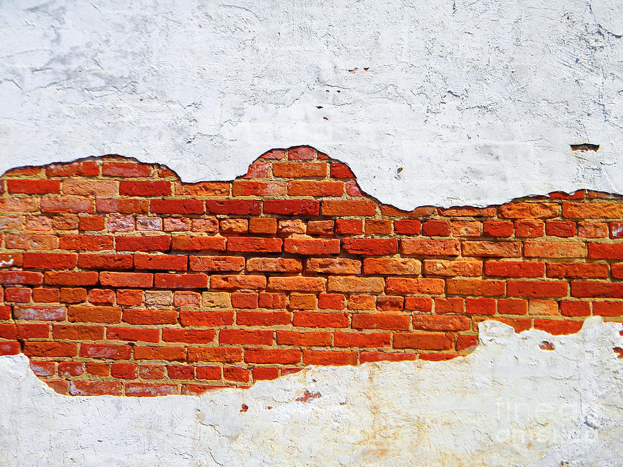 Another Brick In The Wall Photograph by Lorraine Heath