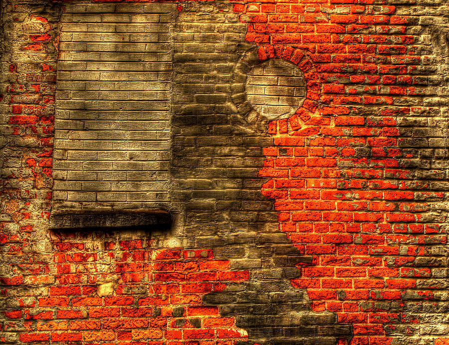 Wall Photograph - Another Brick In The Wall by Thomas Young