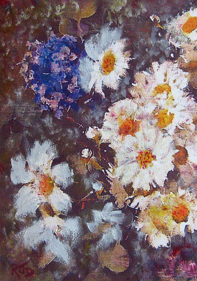 Another Cluster Of Daisies Painting