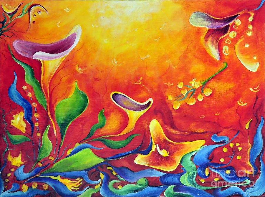 Fantasy Painting - Another Dream by Teresa Wegrzyn
