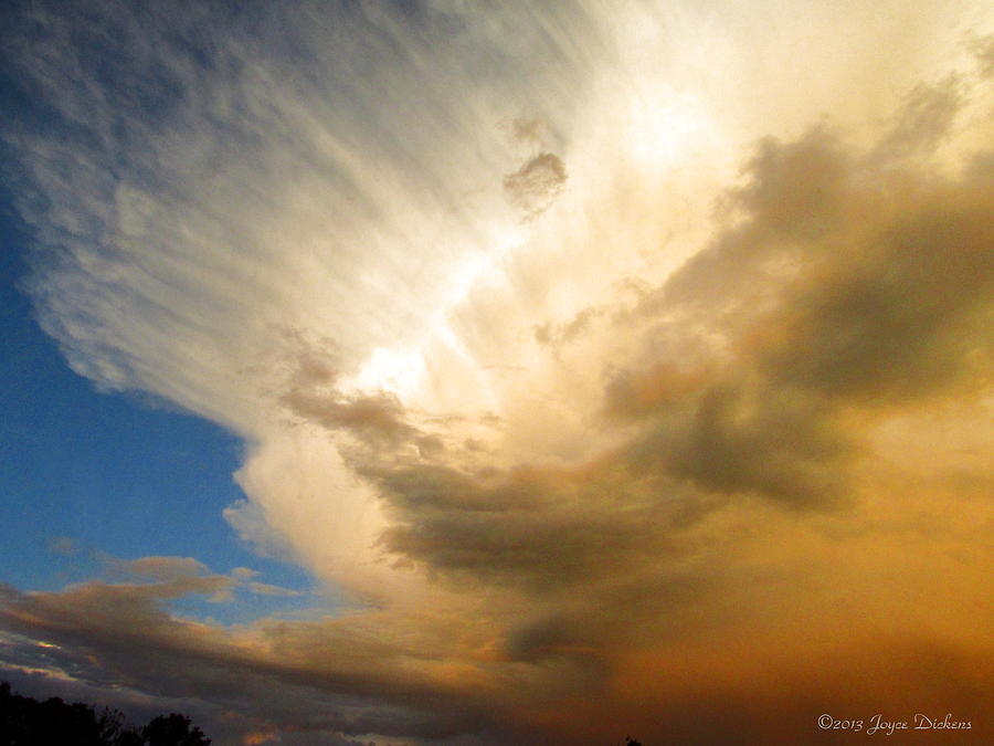 Cloud Photograph - Another Incredible Cloud by Joyce Dickens