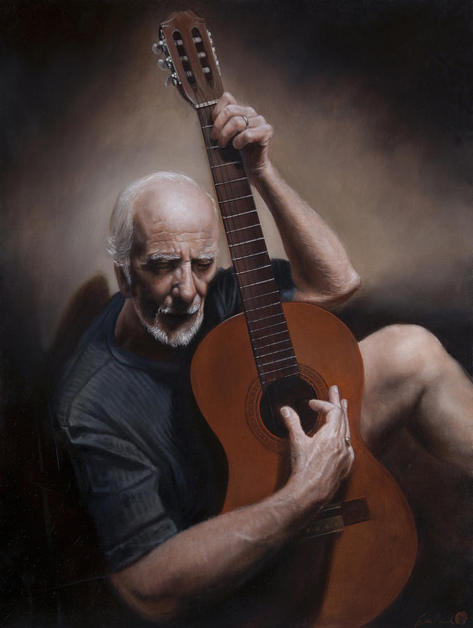 Realism Painting - Another Picasso Lesson by Eric  Armusik