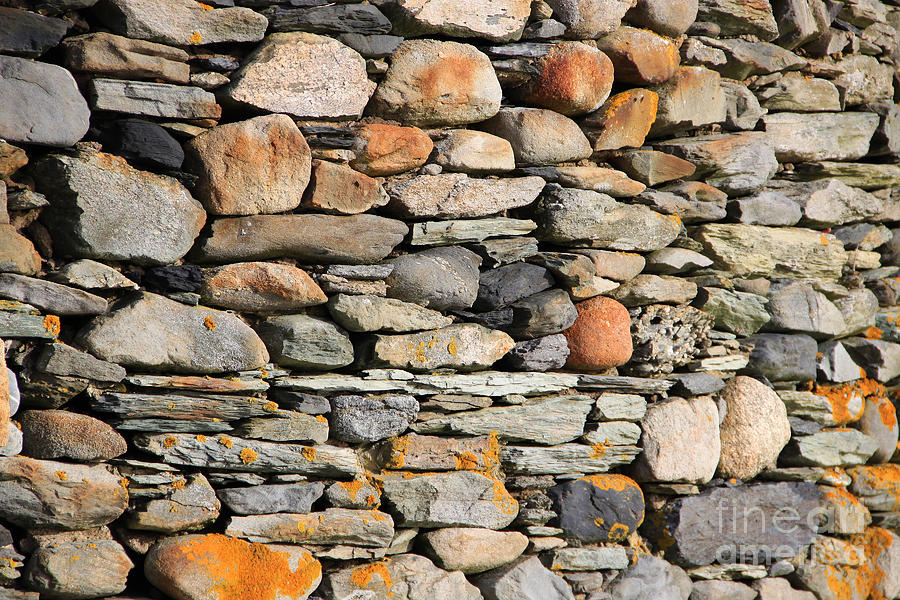 Stone Wall Photograph - Another Stone In The Wall by Michael Mooney
