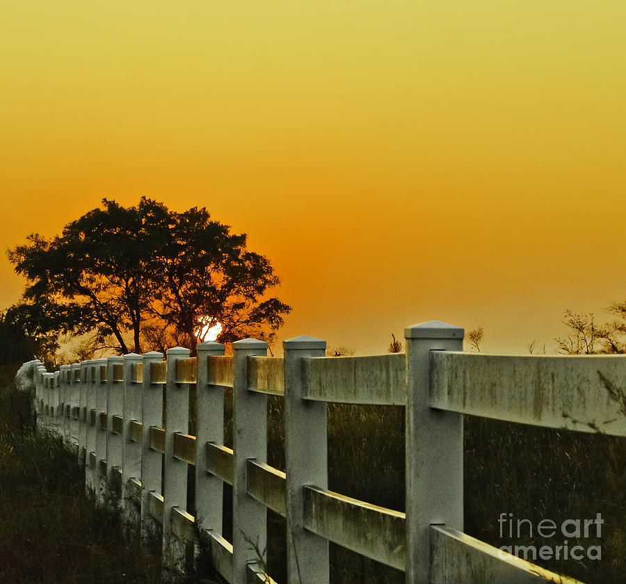 Landscape Photograph - Another Tequila Sunrise by Robert Frederick