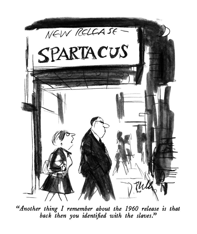 Another Thing I Remember About The 1960 Release Drawing by Donald Reilly