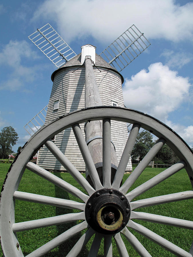 Windmill Photograph - Another View by Barbara McDevitt