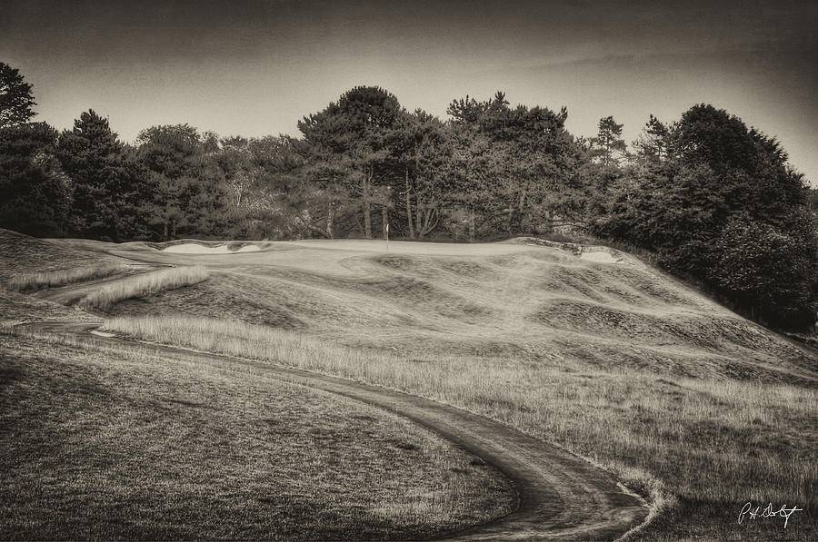 Black & White Photograph - Another View Of Seven by Phill Doherty