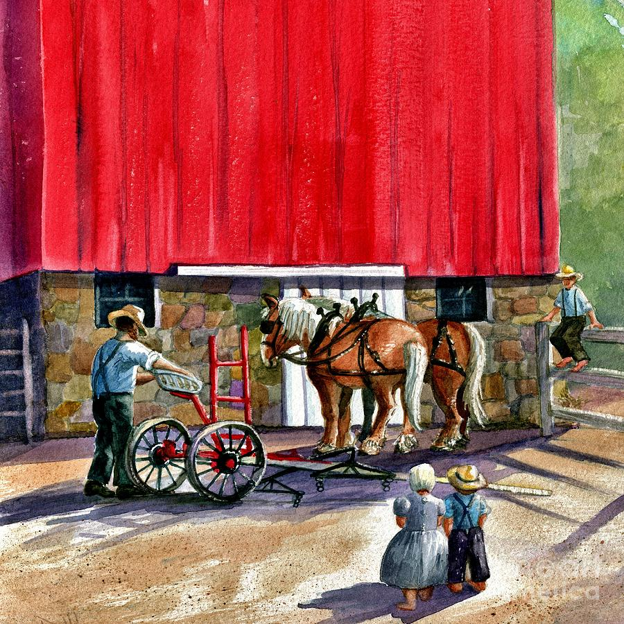 Amish Painting - Another Way Of Life by Marilyn Smith