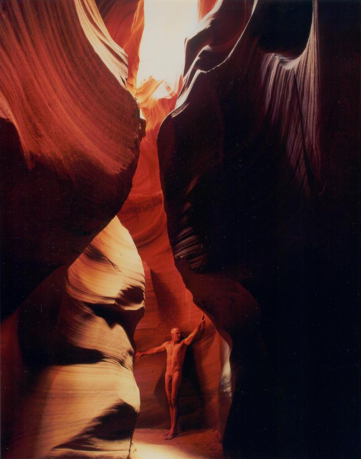 Arizona Photograph - Antelope Canyon 1 by Sean LungMyers
