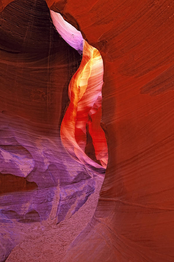 Landscape Photograph - Antelope Canyon Passage by Ray Still