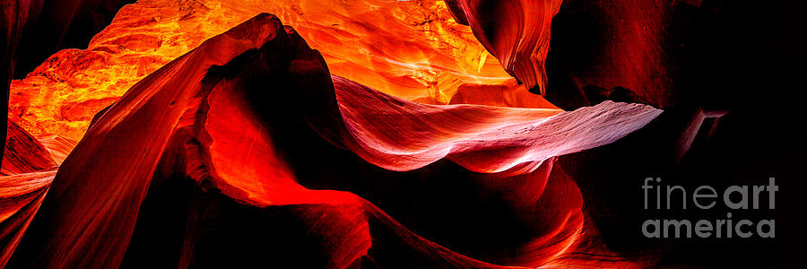 Antelope Canyon Rock Wave Photograph