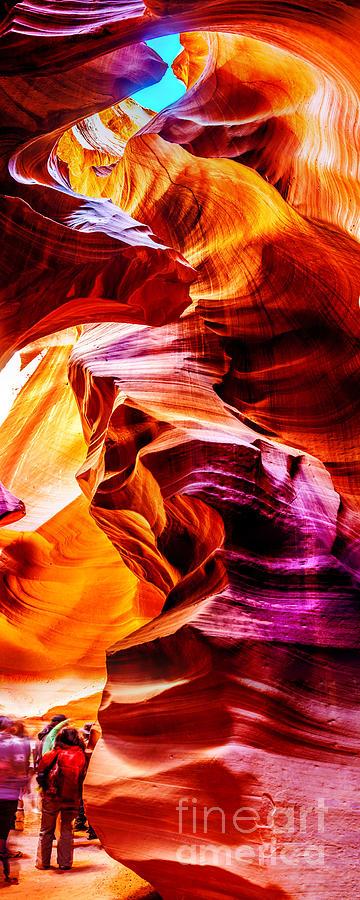 Antelope Canyon Tour Photograph