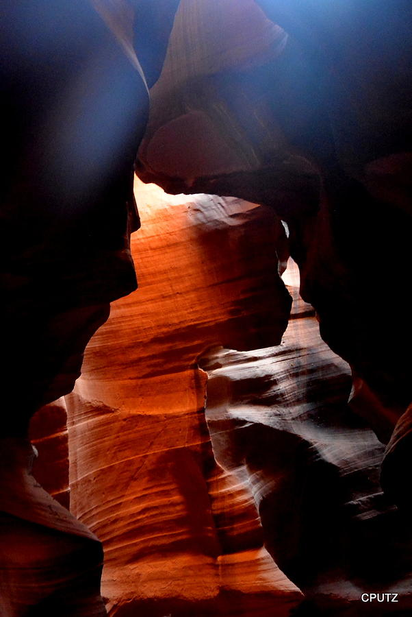 Antelope Canyon Photograph - Antelope Canyon Upper 5 by Carrie Putz