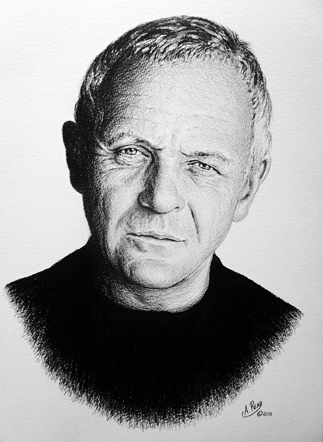 Anthony Hopkins Drawing - Anthony Hopkins by Andrew Read