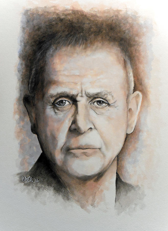 Celebrity Painting - Anthony Hopkins by William Walts