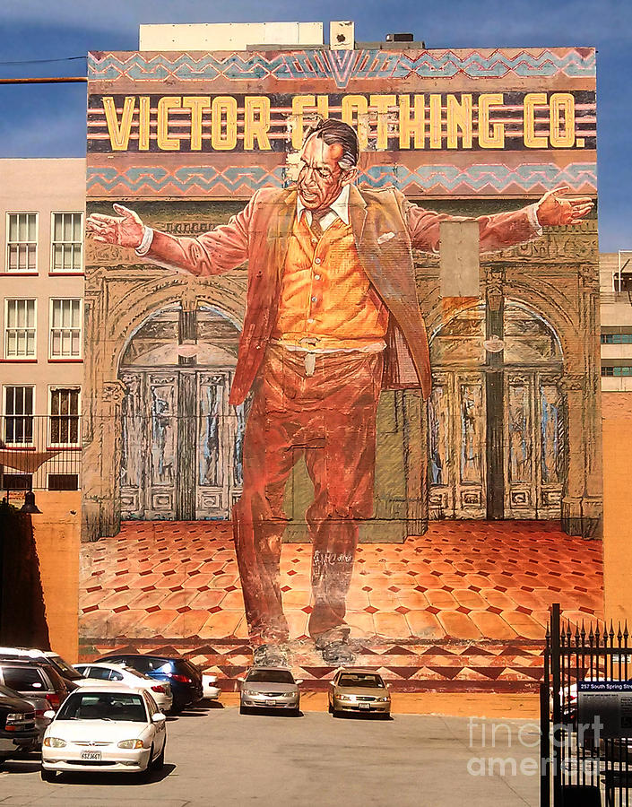 Los Angeles Photograph - Anthony Quinn Mural by Gregory Dyer