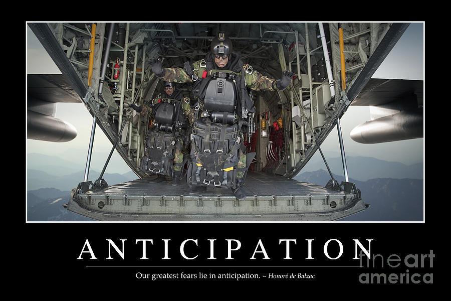 Anticipation Inspirational Quote Photograph By Stocktrek