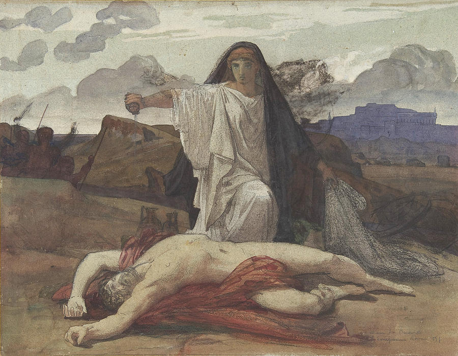 greek gods in antigone In the greek play by sophocles, haemon has little to say, but this time watson  has him tell the story, thereby creating a special kind of pathos the antigone of.