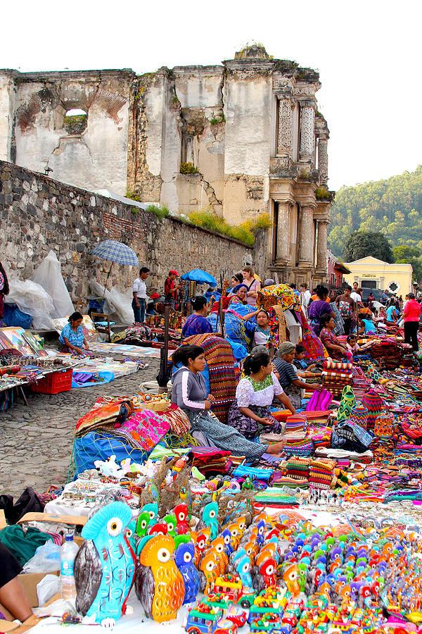 Guatemala Photograph - Antigua Guatemala by Carey Chen