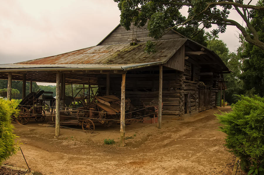 Antique Barn Photograph - Antique Barn by Chris Flees