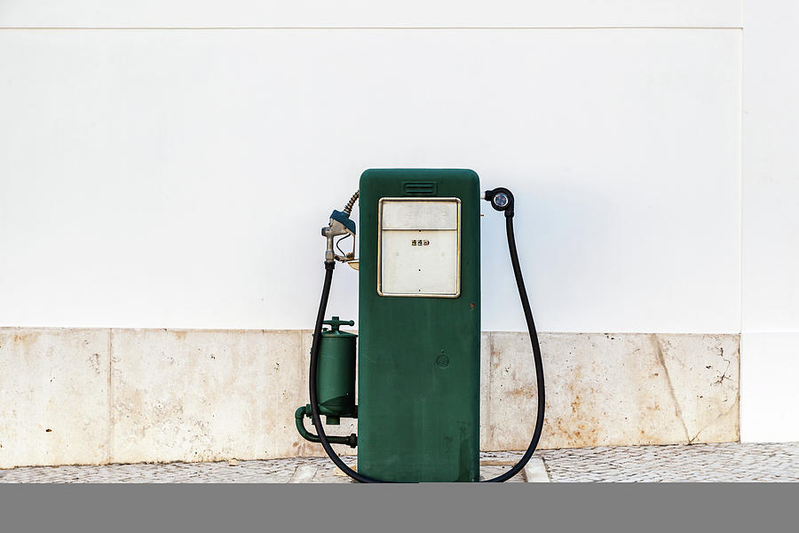 Antique Beautiful Gas Pump Photograph by Look Me Luck Photography