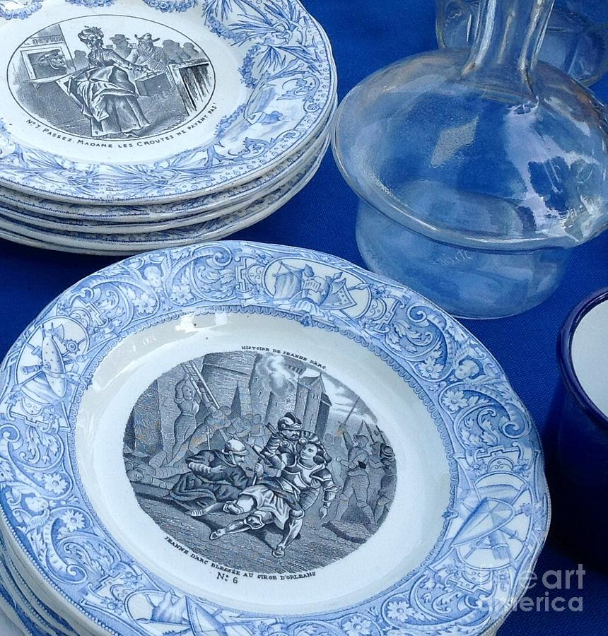 Antique Bleu by FRANCE  ART