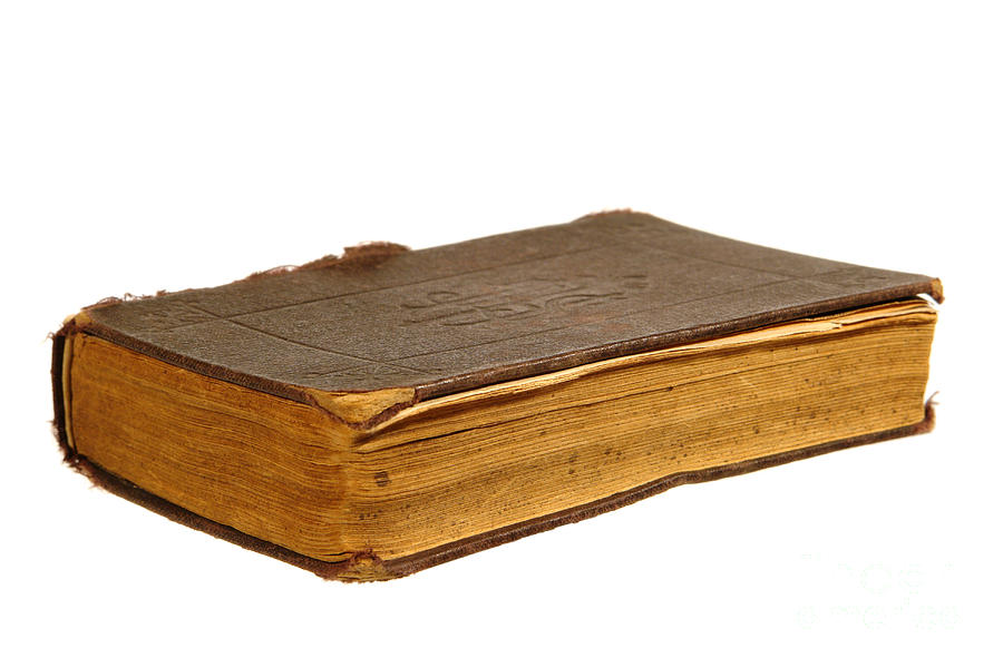 Book Photograph - Antique Book by Olivier Le Queinec