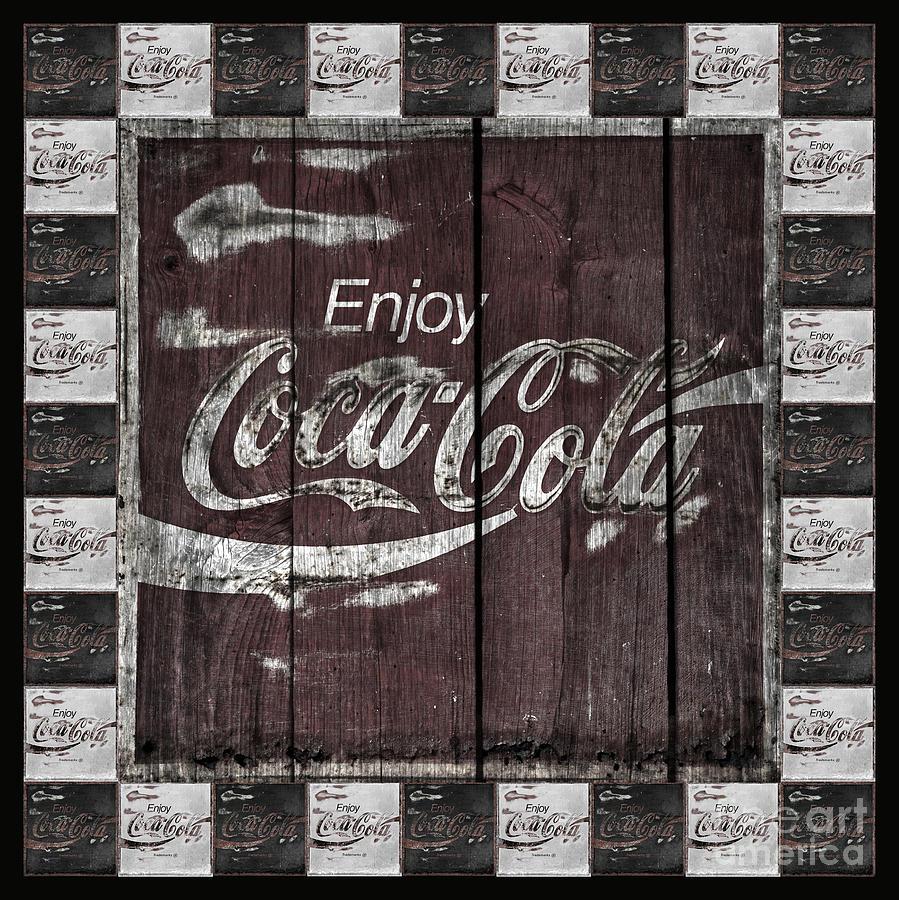 Coca Cola Photograph - Antique Coca Cola Signs by John Stephens