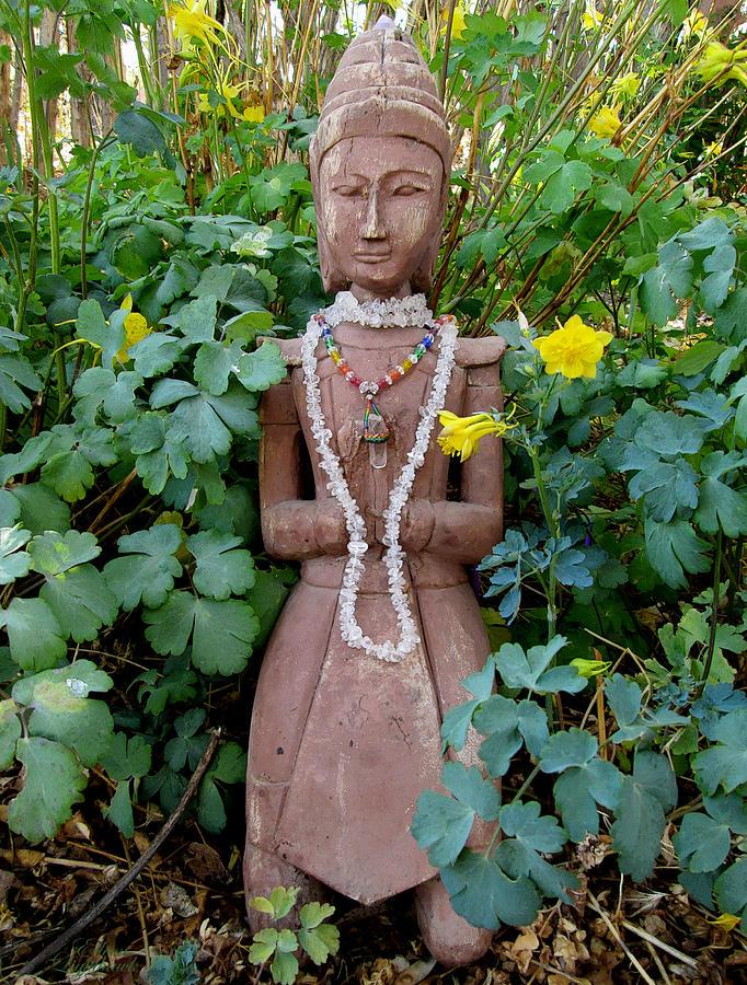 Goddess Photograph - Antique Garden Goddess by Eileen Lighthawk