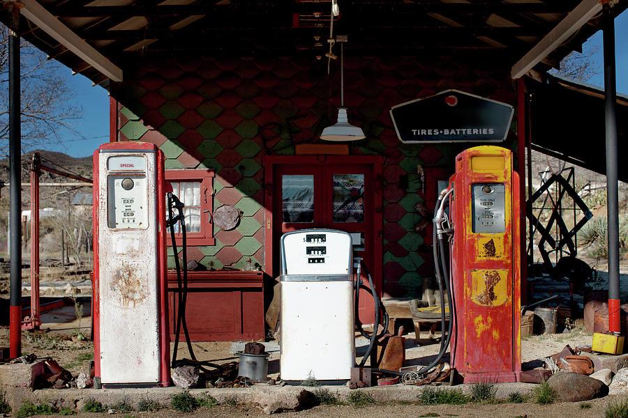 Antique Gas Station Photograph by Sunara