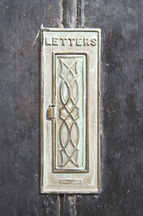Address Photograph - Antique Letter Pox by Tom Gowanlock