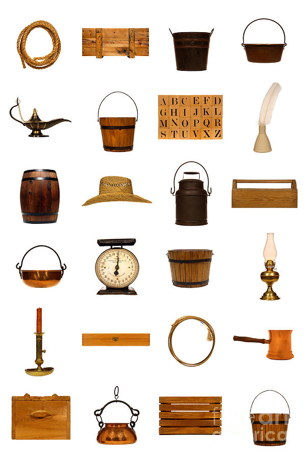Objects Photograph - Antique Objects Collection by Olivier Le Queinec