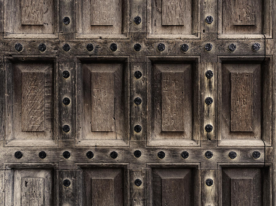 Antique Wooden Door Closeup Photograph by Dutourdumonde Photography