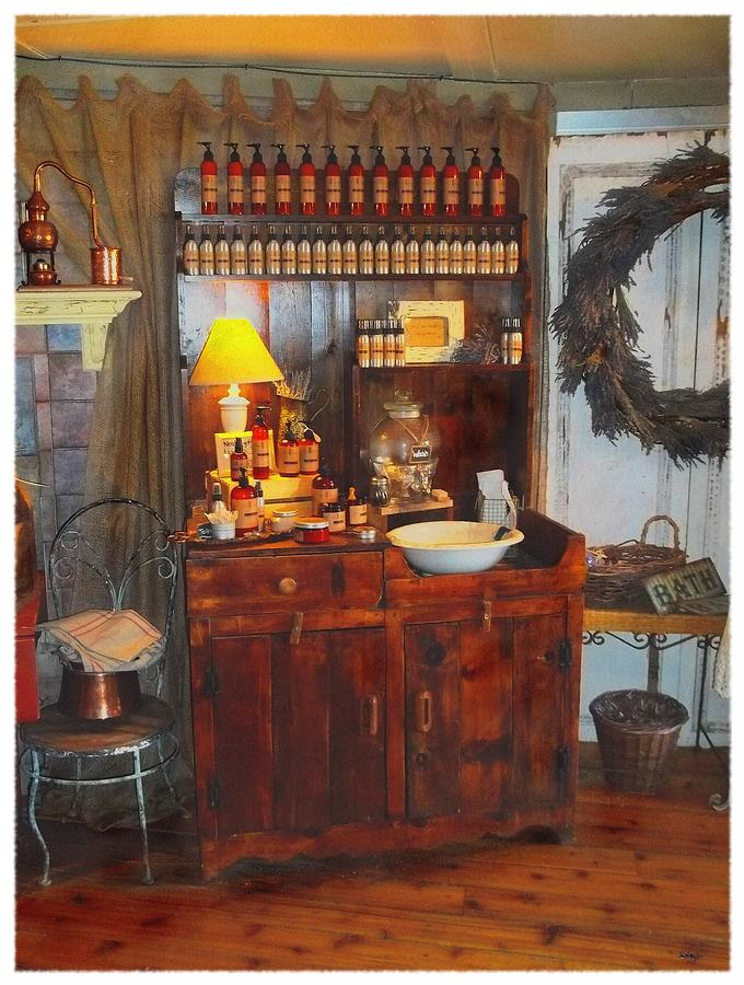 Antiques Photograph - Antiques And Fragrances by Glenn McCarthy Art and Photography