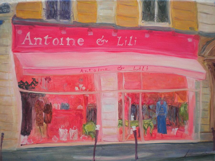 Shop Photograph - Antoine & Lili, 2010 Oil On Canvas by Antonia Myatt