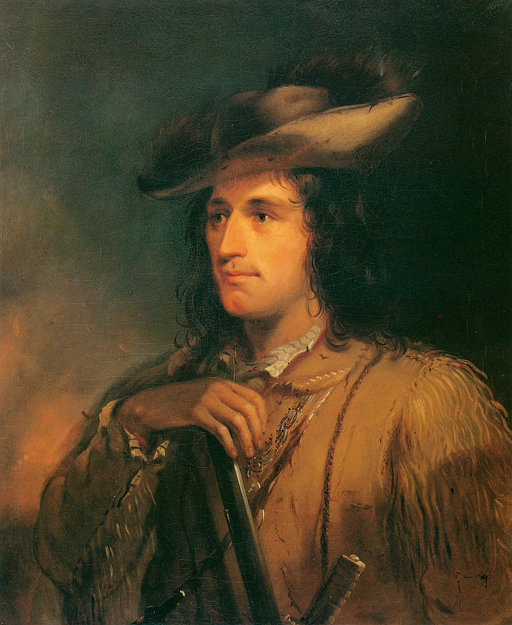 Alfred Jacob Miller Painting - Antoine Clement The Great Hunter by Alfred Jacob Miller