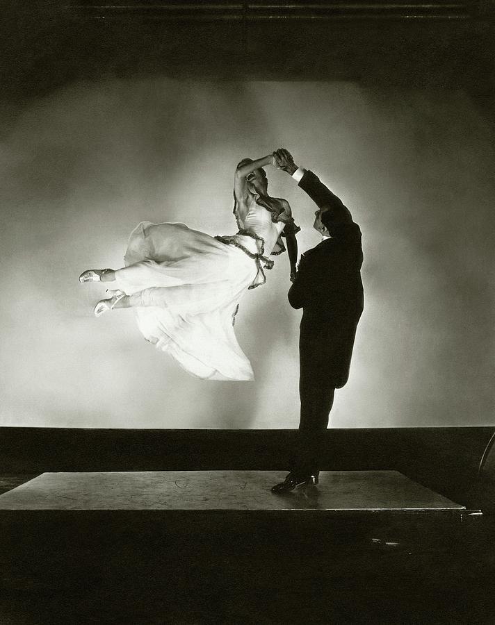 Dance Photograph - Antonio And Renee De Marco Dancing by Edward Steichen